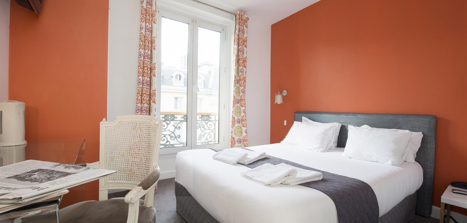 Chambre Standard Double - Votre chambre Hôtel Quartier Louvre – Le ...
